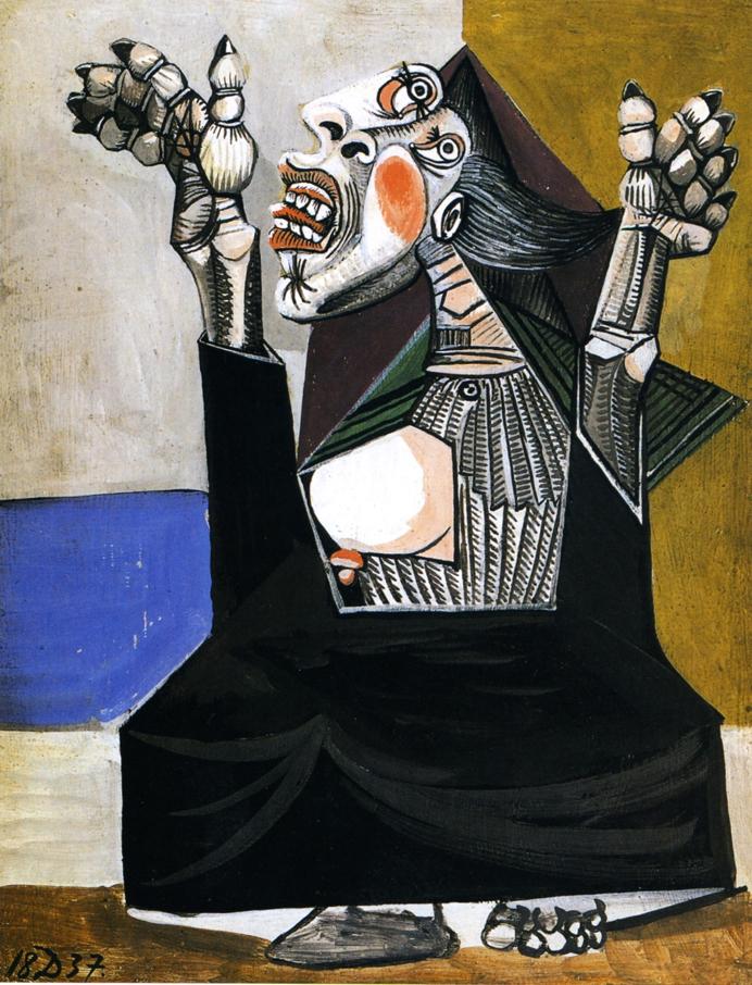 Picasso, La suplicante (1937)