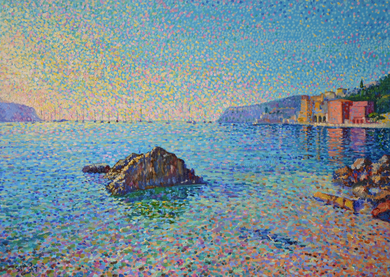 8 heures du matin à villefranche sur mer