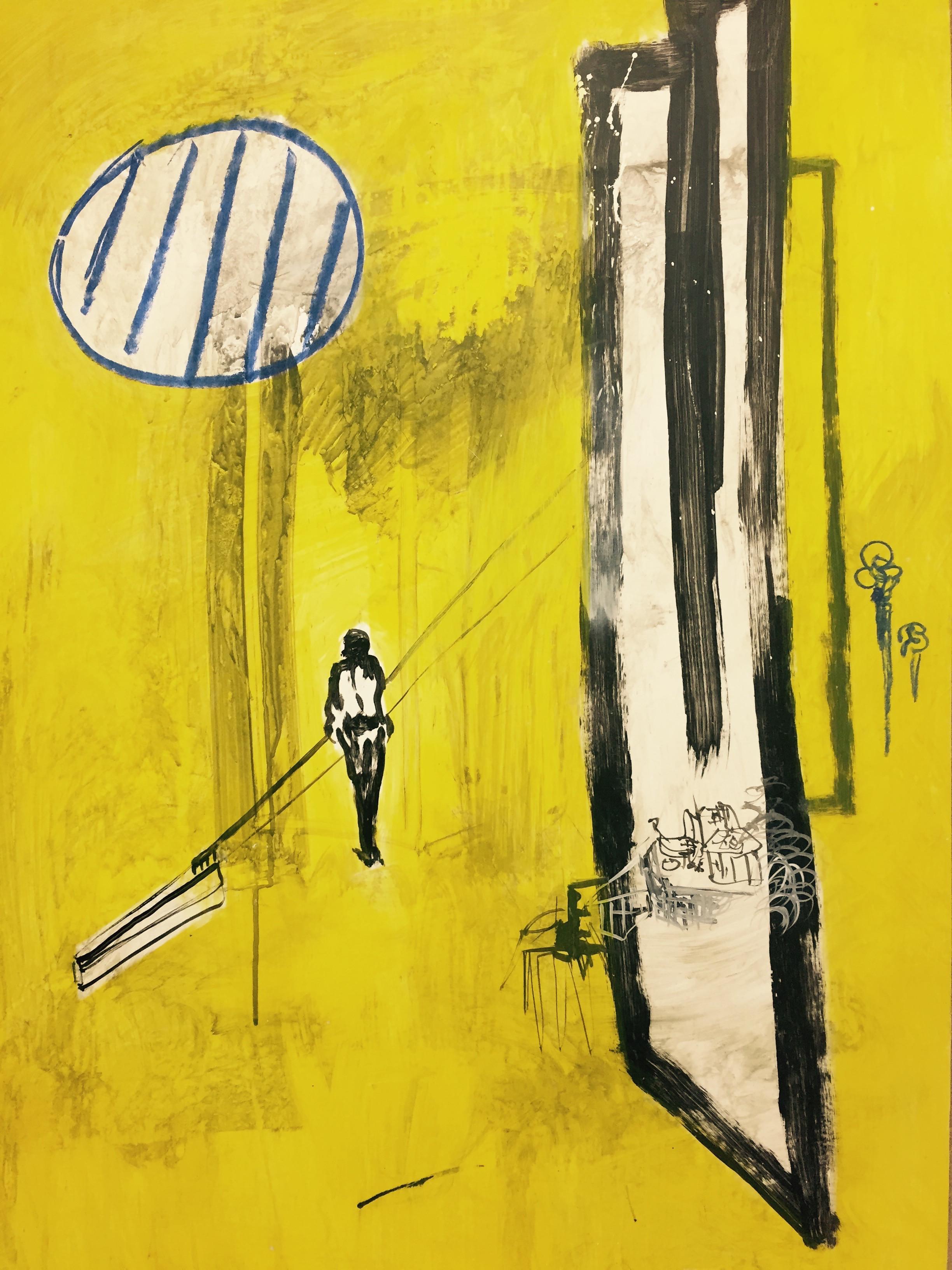 Le miroir jaune