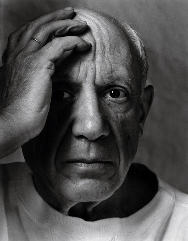 Pablo_Picasso-Vallauris_France_1954-portrait - Copie