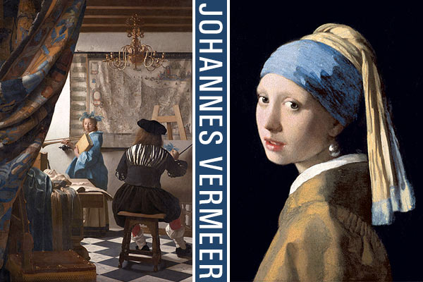 La Minute Arty • Johannes Vermeer