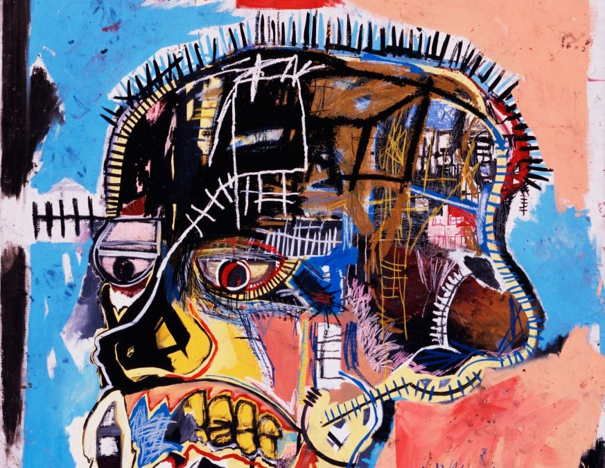 Canvassing the Masterpieces: Skull by Basquiat