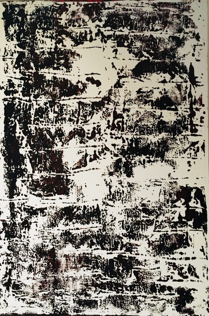 Werner Schreyer, Patagonia (acrylique sur toile)