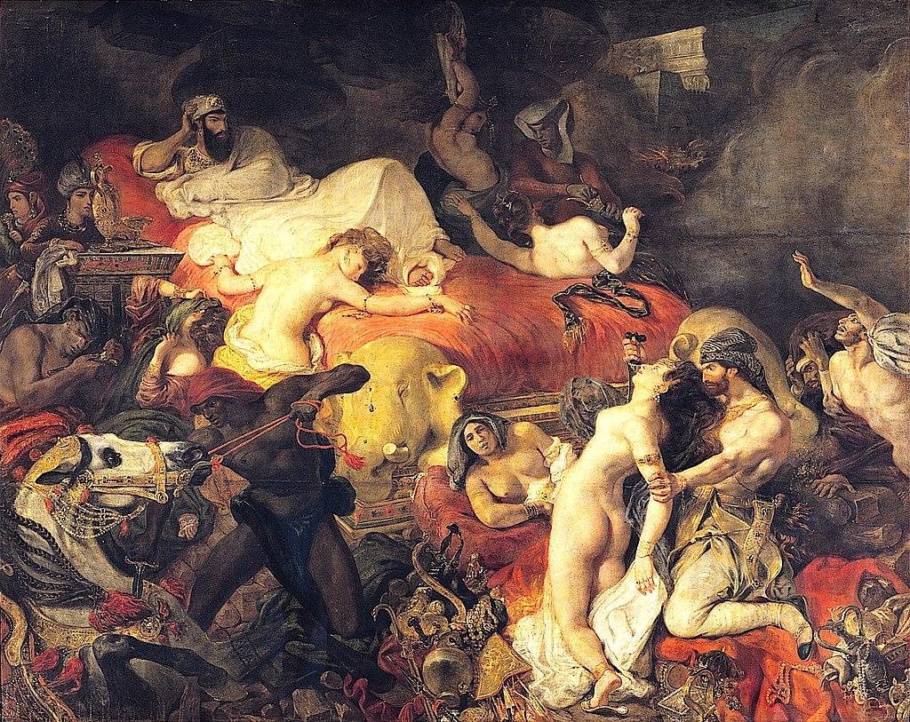 Eugène_Delacroix_La_Mort_de_Sardanapale