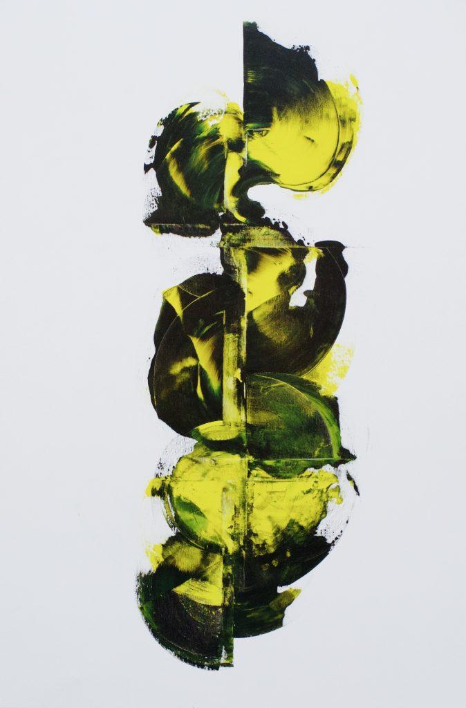 Krystel Schmidt, Kiss of life (acrylique sur toile)