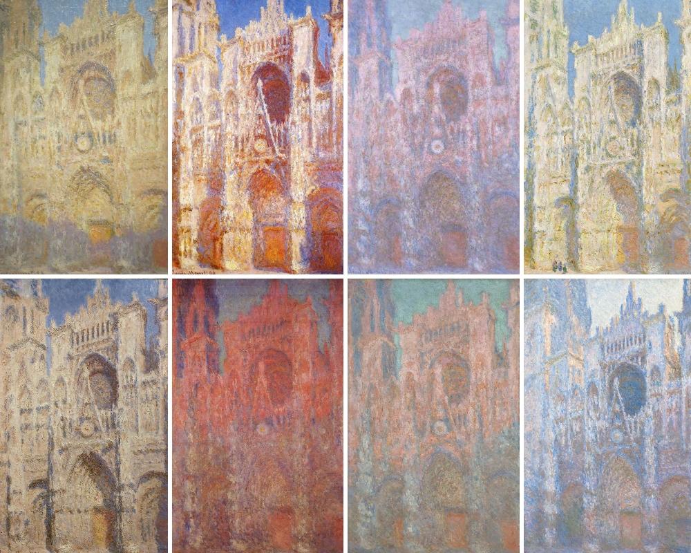 Série des Cathédrales de Rouen-1874