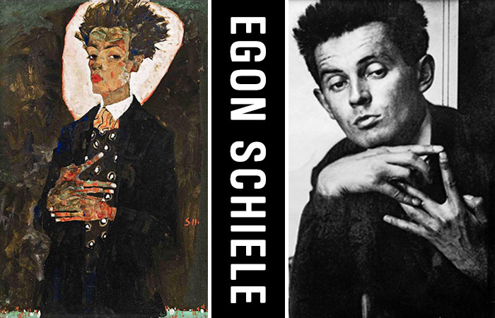 Canvassing the Masterpieces: Egon Schiele's Self-Portrait