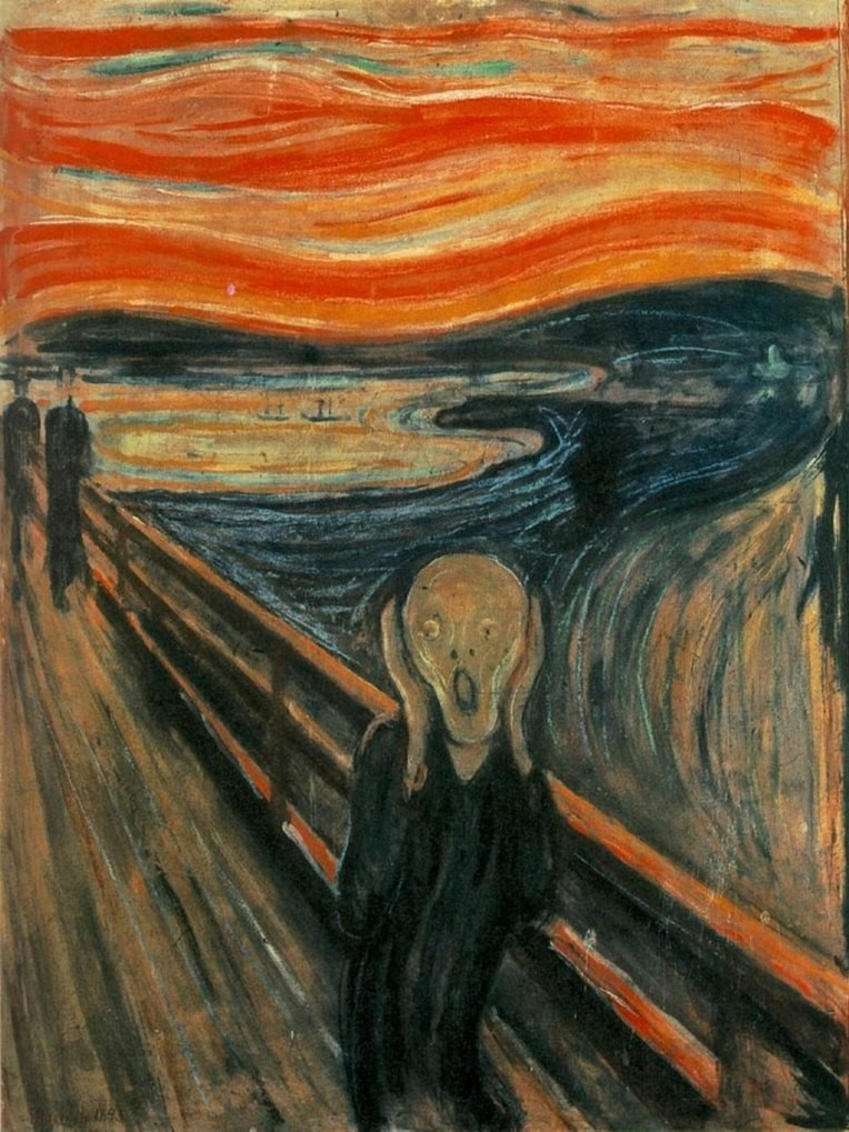 Munch, Le cri (1893) / Edvard Munch [Public domain]