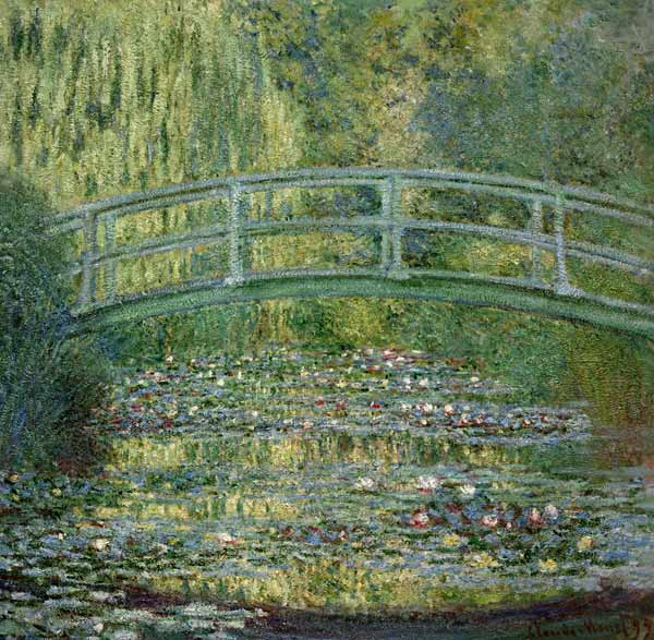 monet-The-Waterlily-Pond-with-the-Japanese-Bridge_-1899