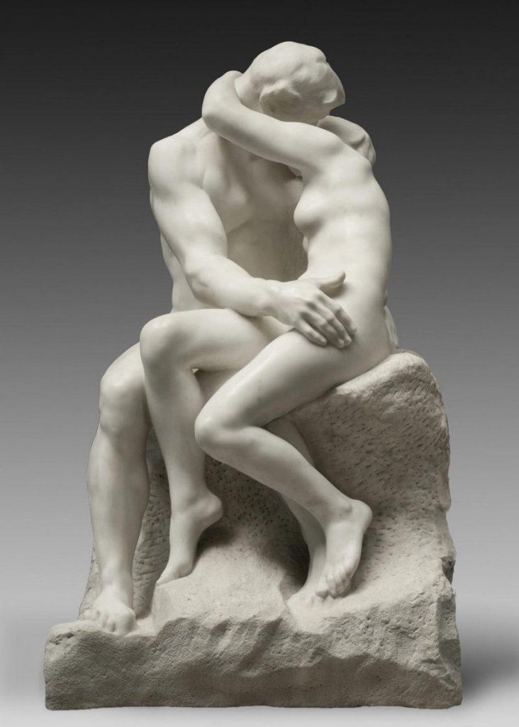Rodin, Le Baiser (1882)