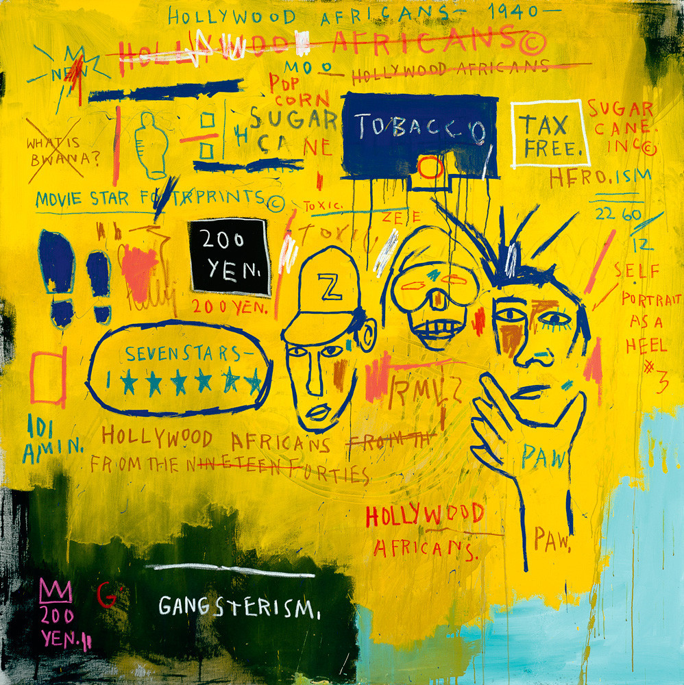 basquiat-hollywood-africans-1983