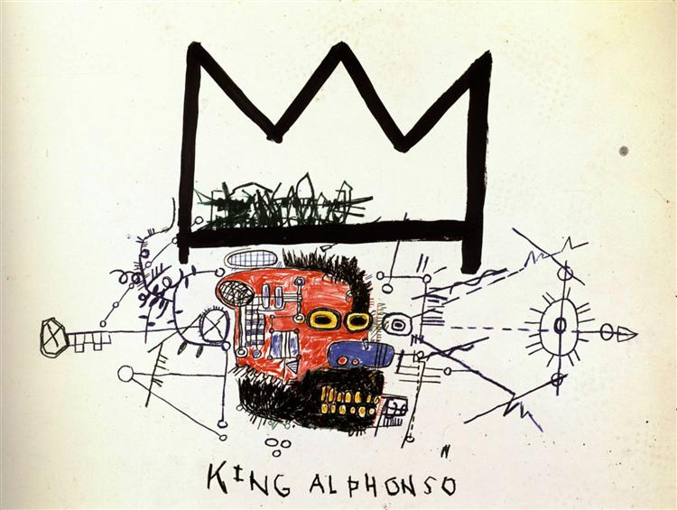 king-alphonso-basquiat-1983