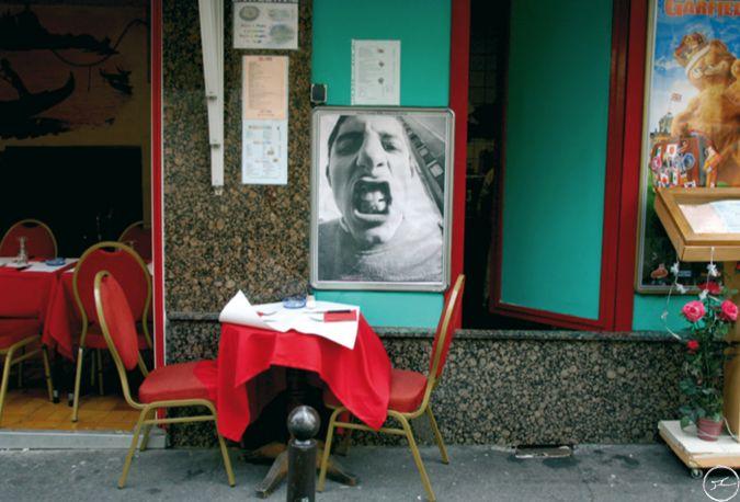 JR, Projet 28 Millimètres, Portrait d'une Génération Christoph, Paris, 5ème arrondissement, 2004 / source : https://www.jr-art.net