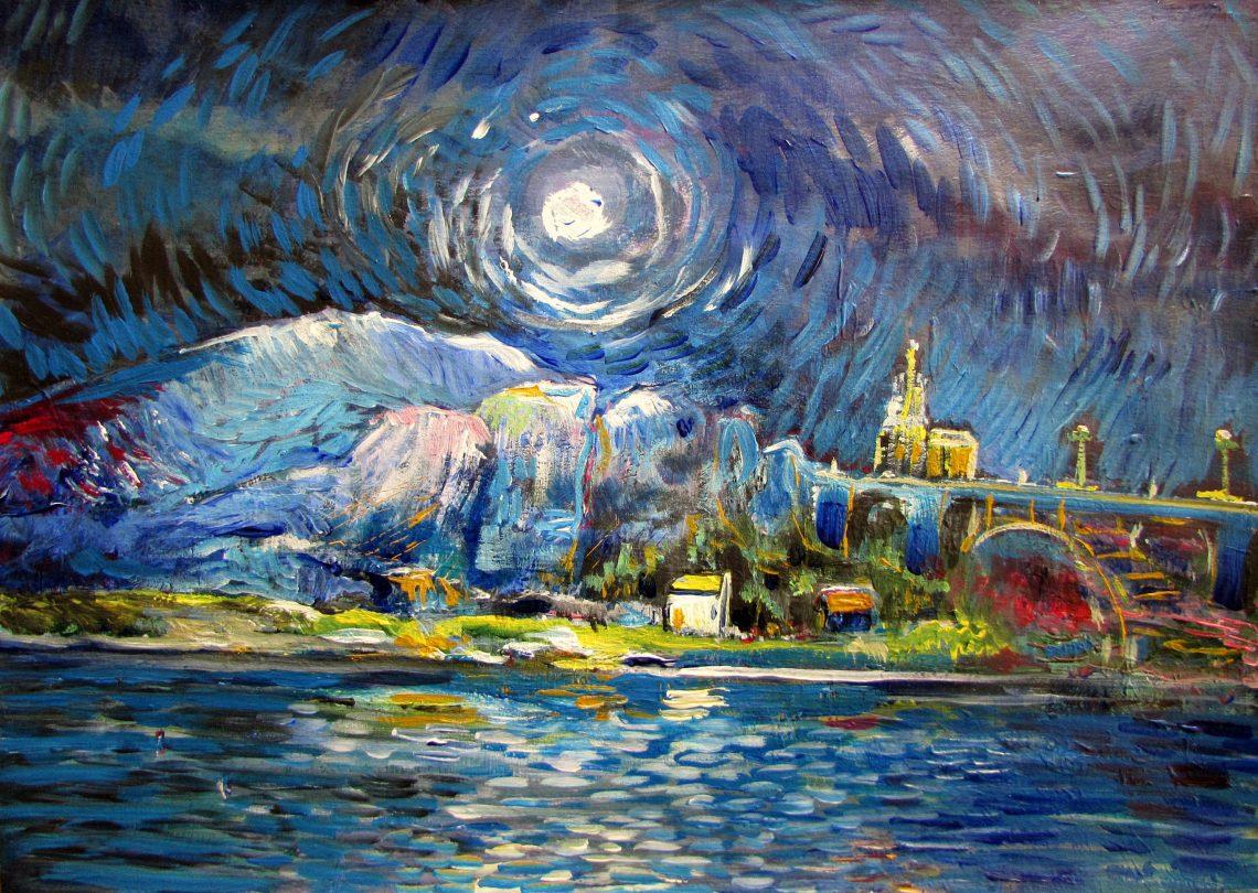 L'oeuvre à la loupe : La nuit étoilée de Van Gogh - blog de KAZoART