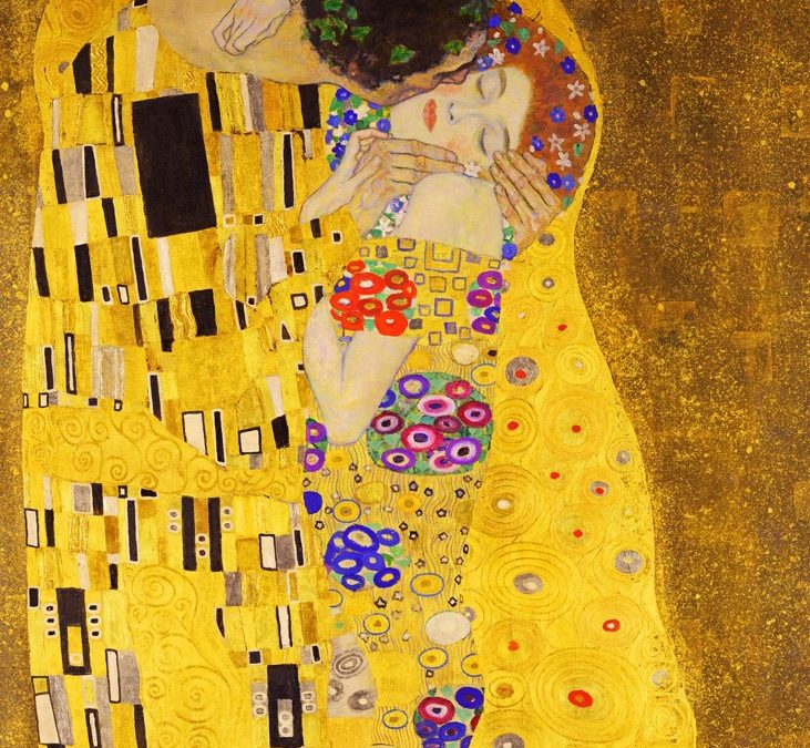 Canvassing the Masterpieces: The Kiss by Gustav Klimt