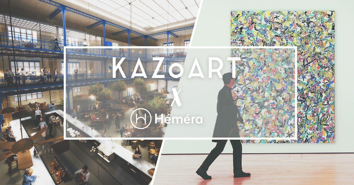 «Les Artistes sont dans la Halle» : KAZoART expose à Bordeaux