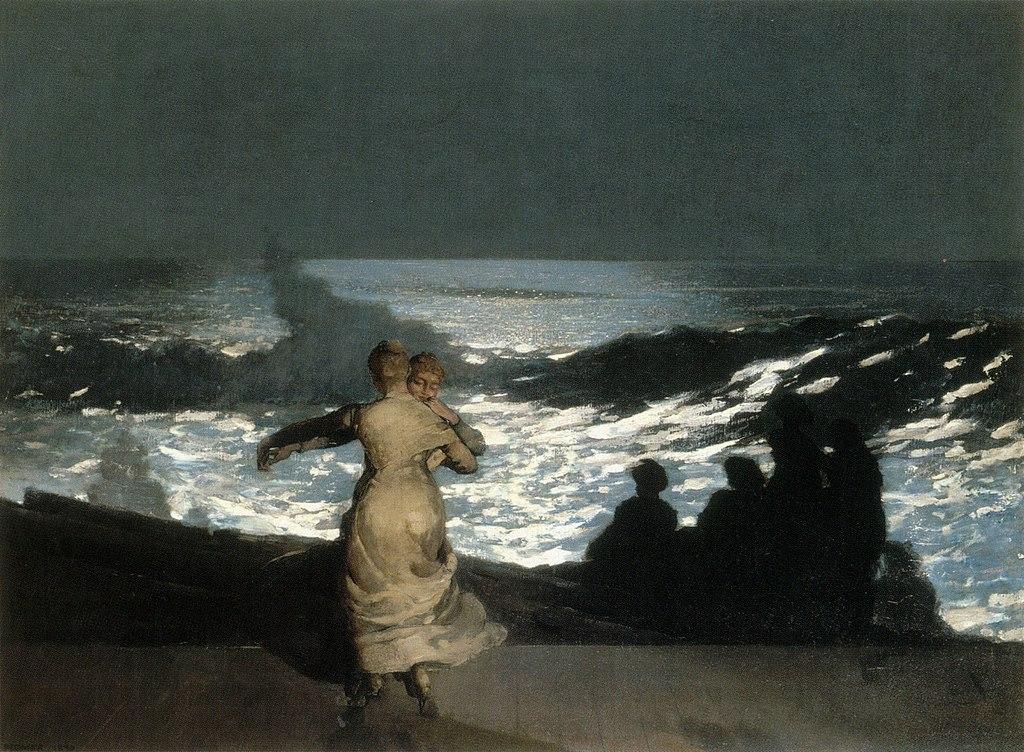 Peindre la nuit - Winslow Homer