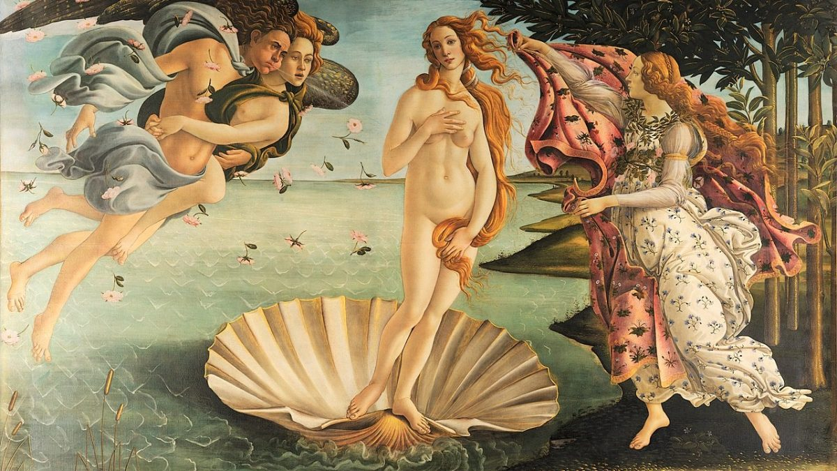 Canvassing the Masterpieces: The Birth of Venus by Botticelli