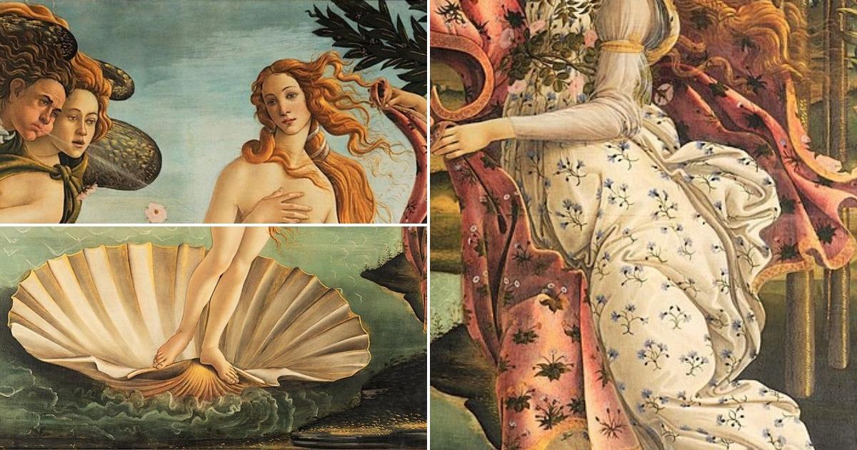 L œuvre A La Loupe La Naissance De Venus De Botticelli Le Blog D Art Contemporain De Kazoart