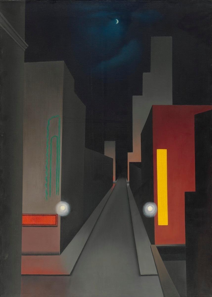Peindre la nuit - George Ault