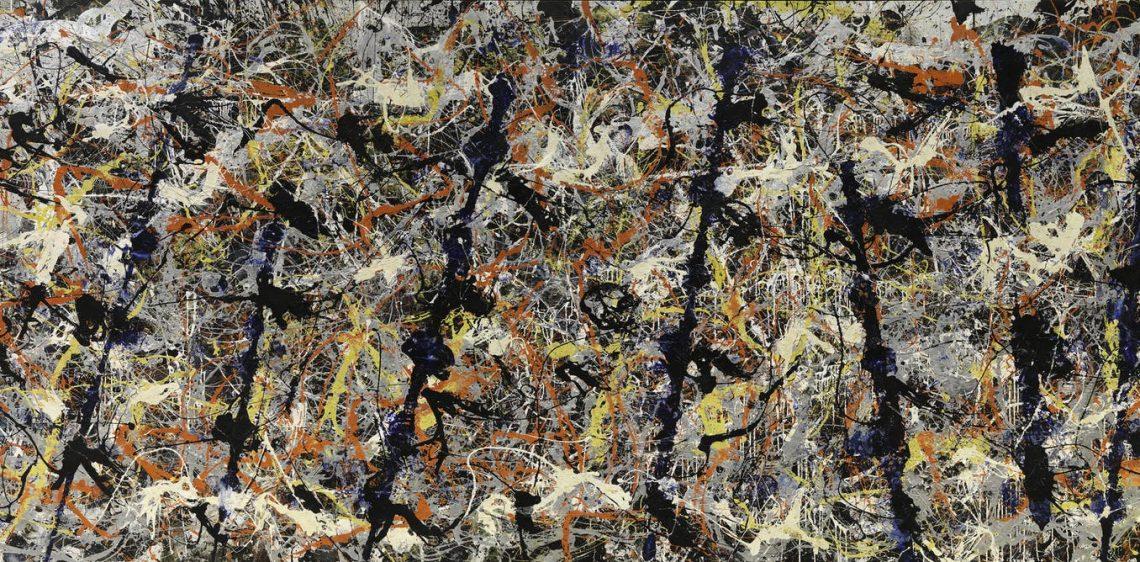 Jackson Pollock, Number 11 (Blue Poles), 1952