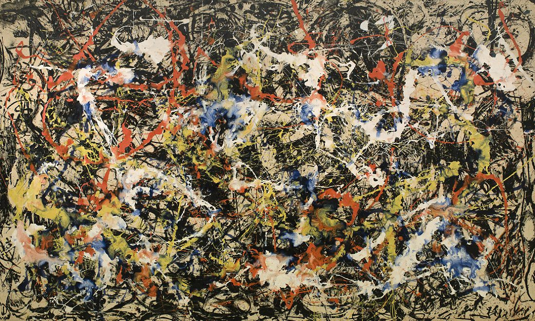Art in a Minute: Jackson Pollock