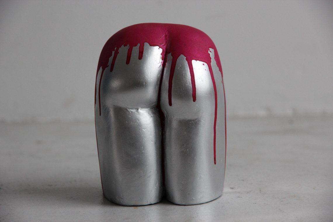 Sophie Bocher, Street man r.2 (sculpture en plâtre)