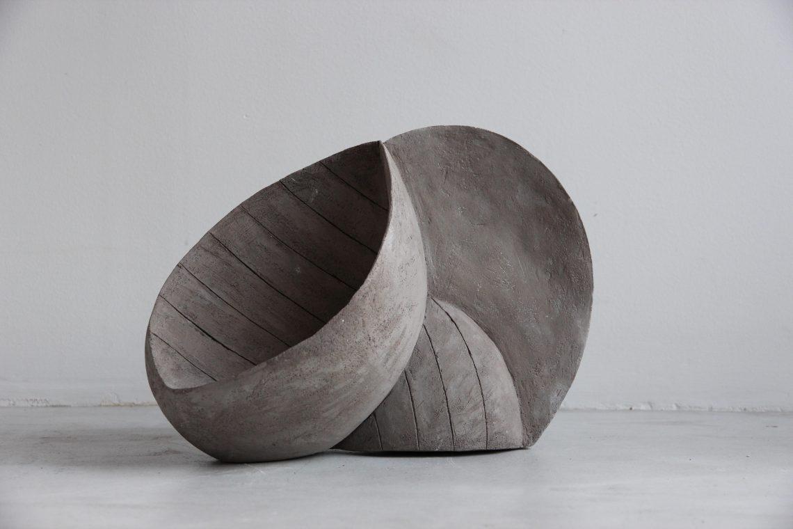 Sophie Bocher, Vibrations (sculpture en céramique)