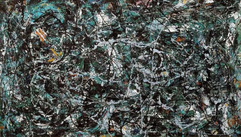 Jackson Pollock, Full Fathom Five, 1947.