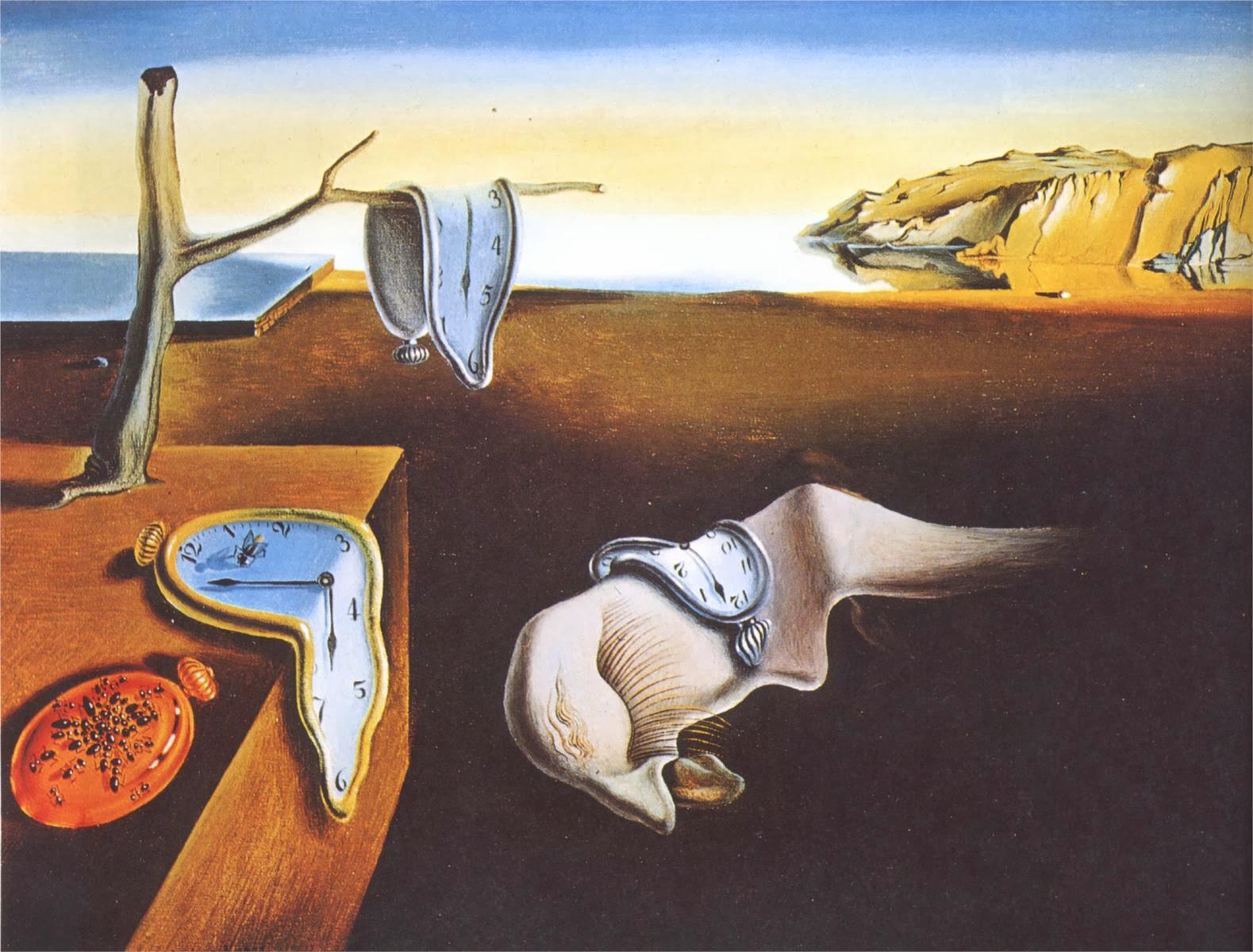 L'invisible présence - Henri de Régnier Salvador-Dali-persistance-de-la-memoire-1931