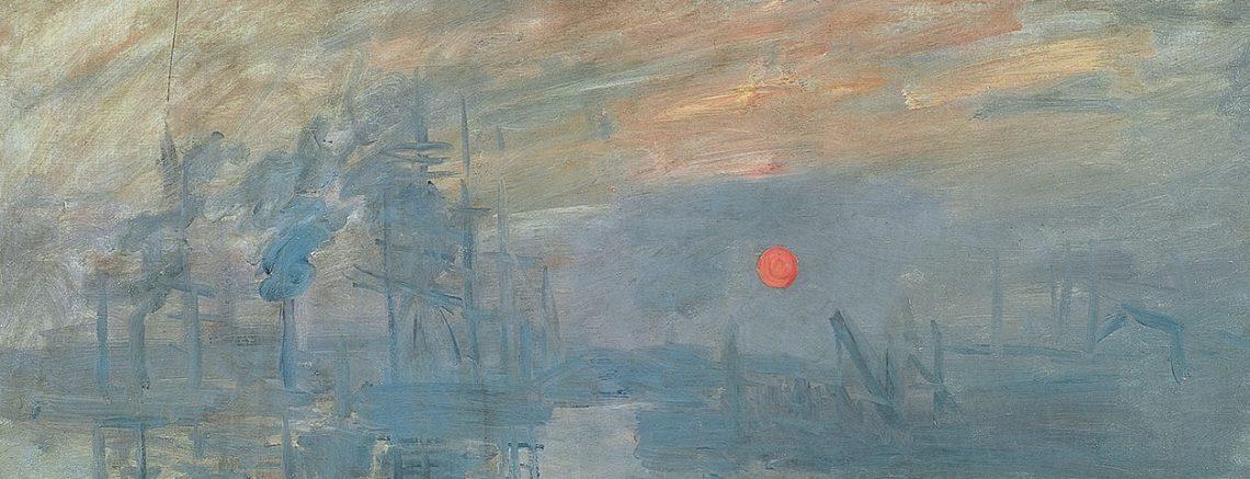 Claude monet impression: sunrise 1872