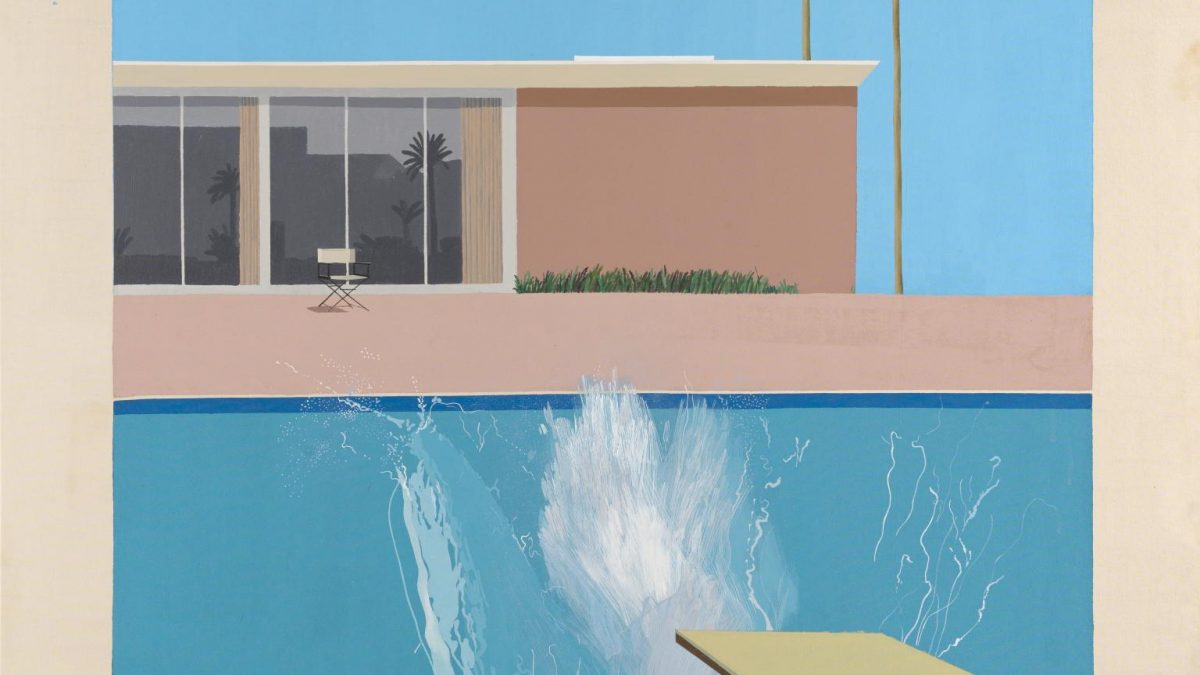 L'Œuvre à la loupe : A Bigger Splash de David Hockney