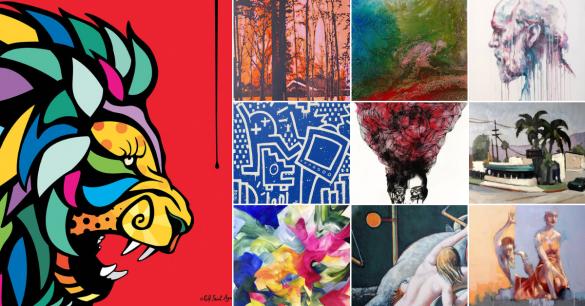 10 Fine Art Painters on KAZoART