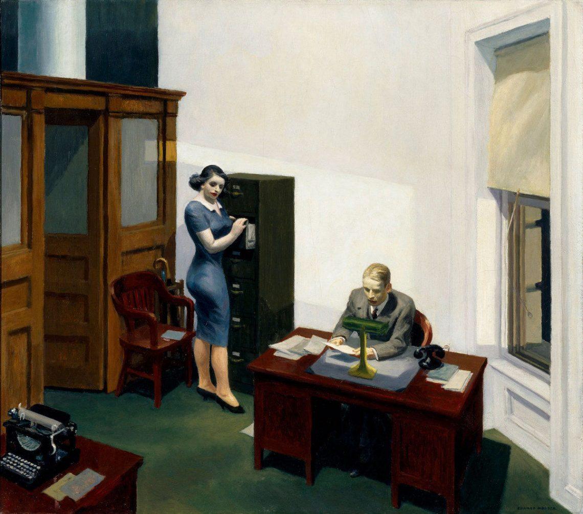 Edward Hopper In 10 Paintings The Kazoart Contemporary Art Blog
