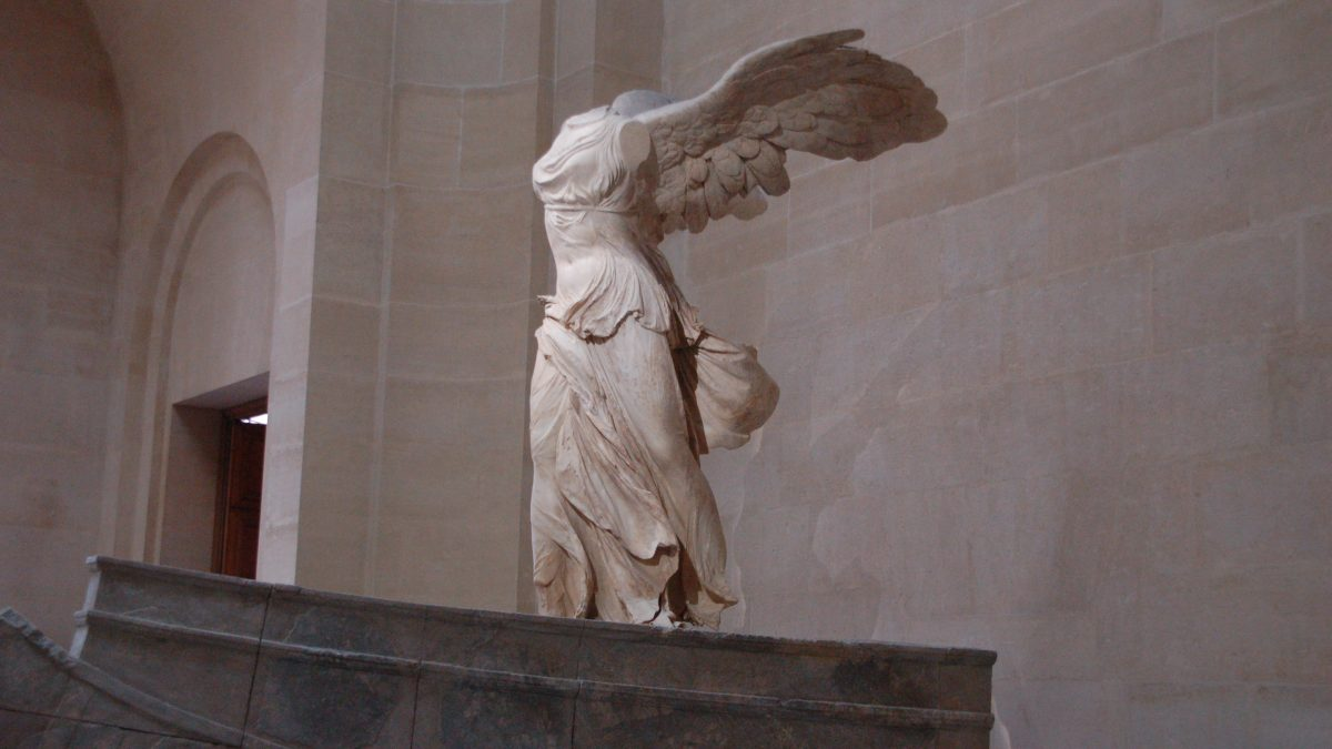 Canvassing the Masterpieces • The Winged Victory of Samothrace