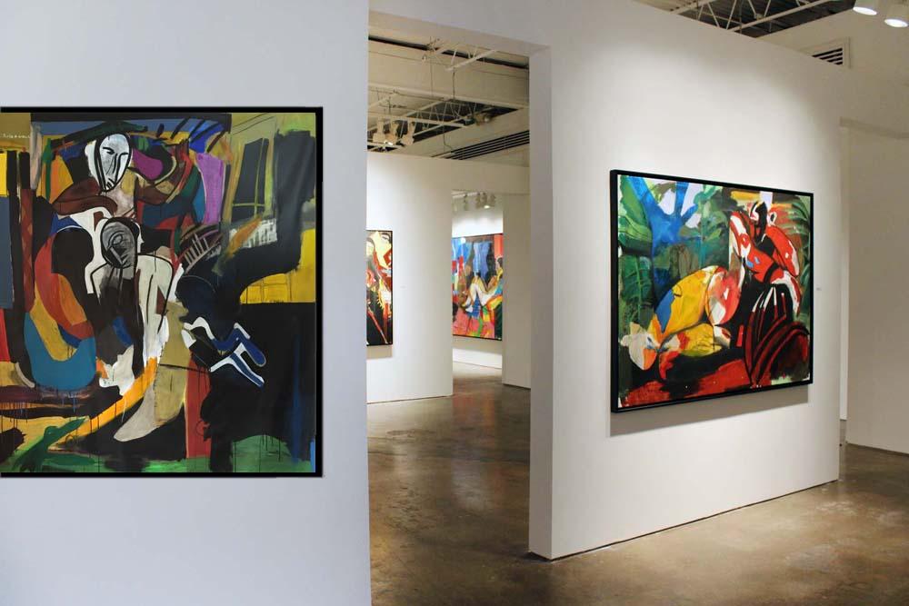 Exposition de F. Schroeder à Bill Lowe Gallery (Atlanta)