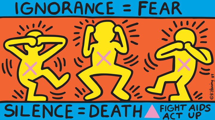 Les 5 grandes expositions européennes 2019 - Keith Haring