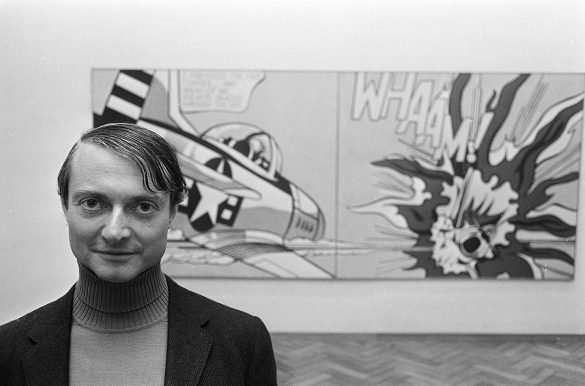 Portrait de Roy Lichtenstein, 1967