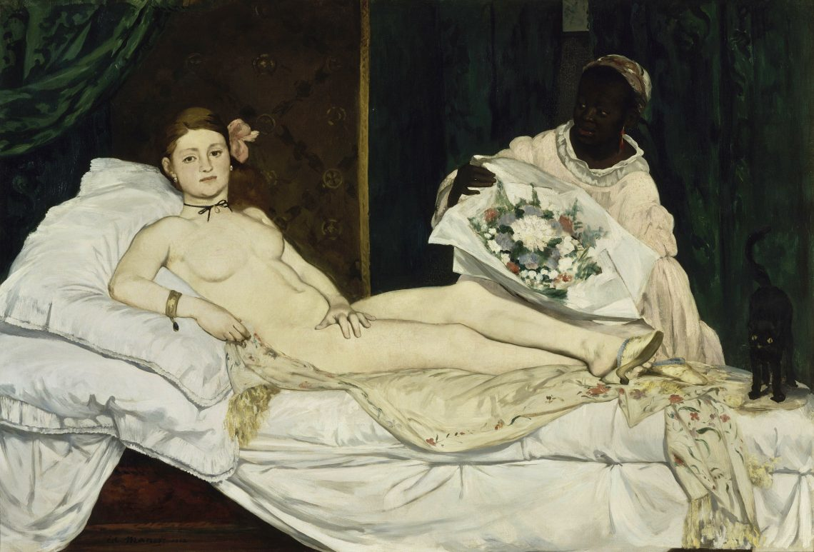 Manet, L'Olympia, 1863