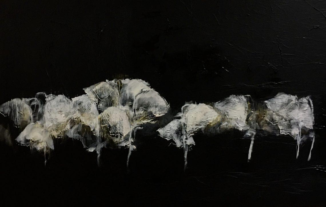 collectionneur d'Art VBN, Noir et fleurs 3