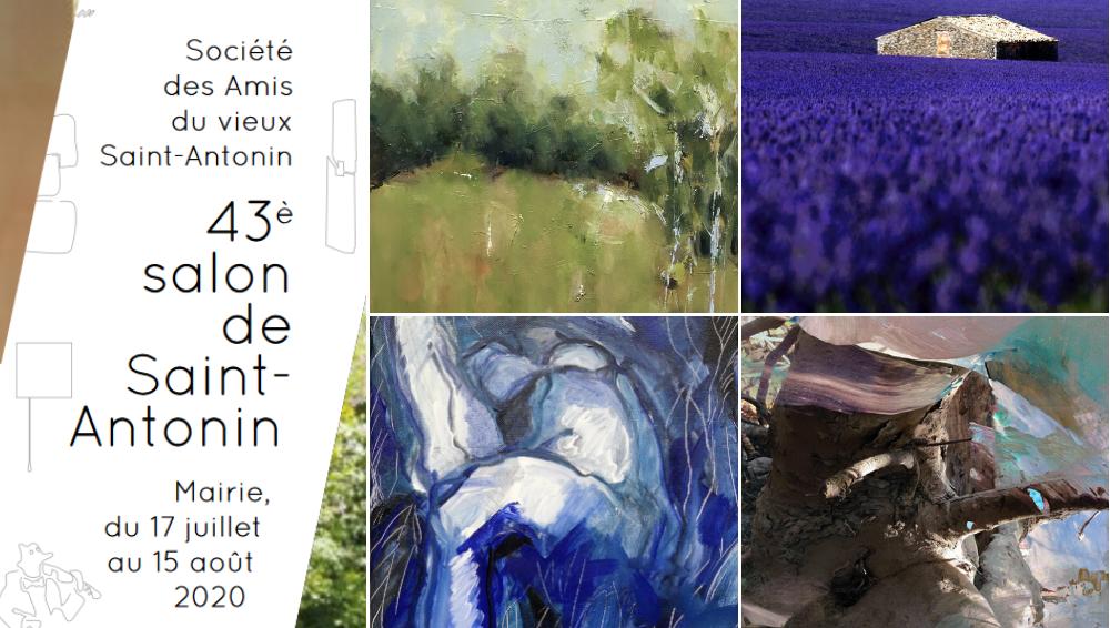 KAZoART, partenaire du Salon d'Art contemporain de Saint-Antonin-Noble-Val cet été