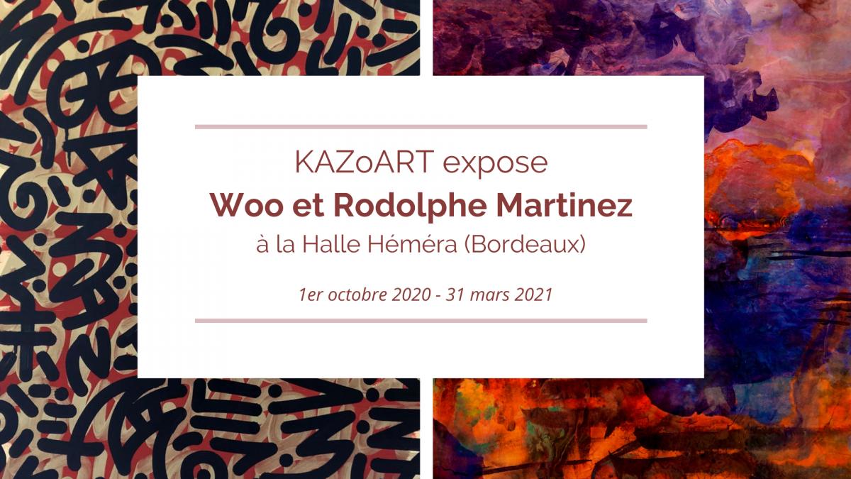KAZoART expose à la Halle Héméra (Bordeaux)