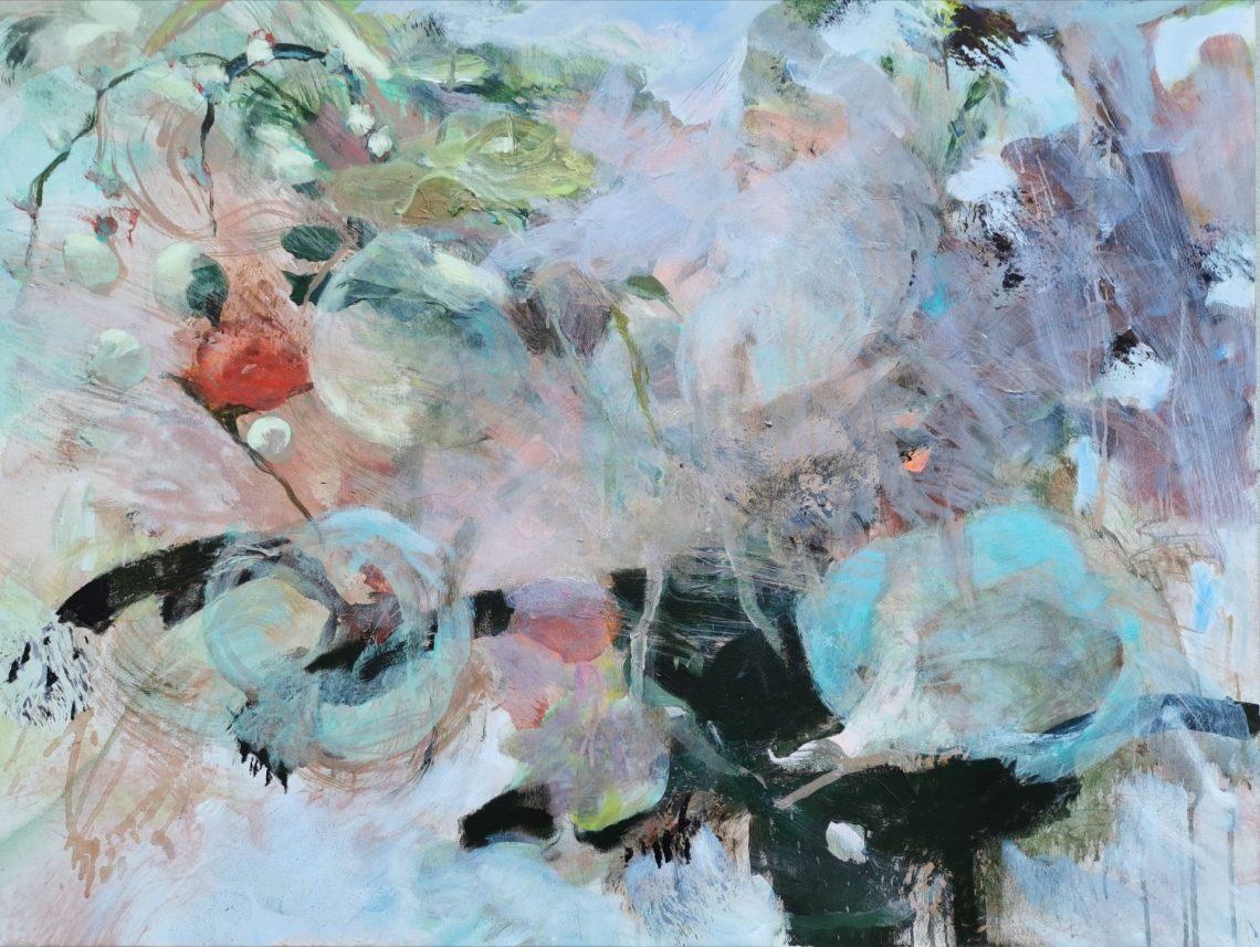Peinture de peintre féminine