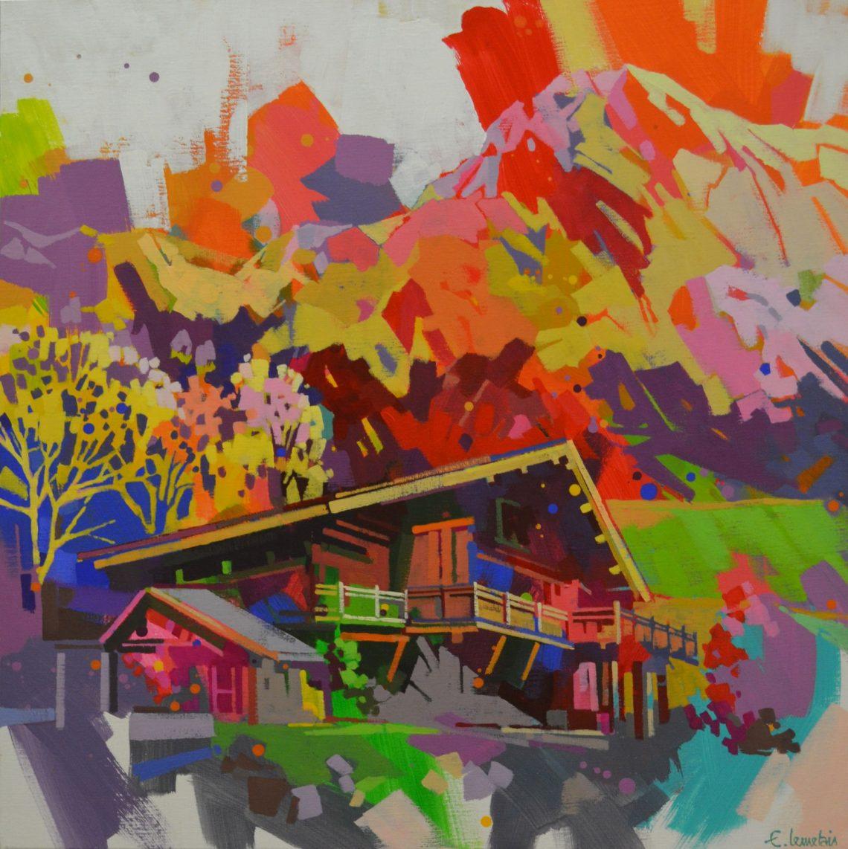 Peinture Emmanuelle Lemetais