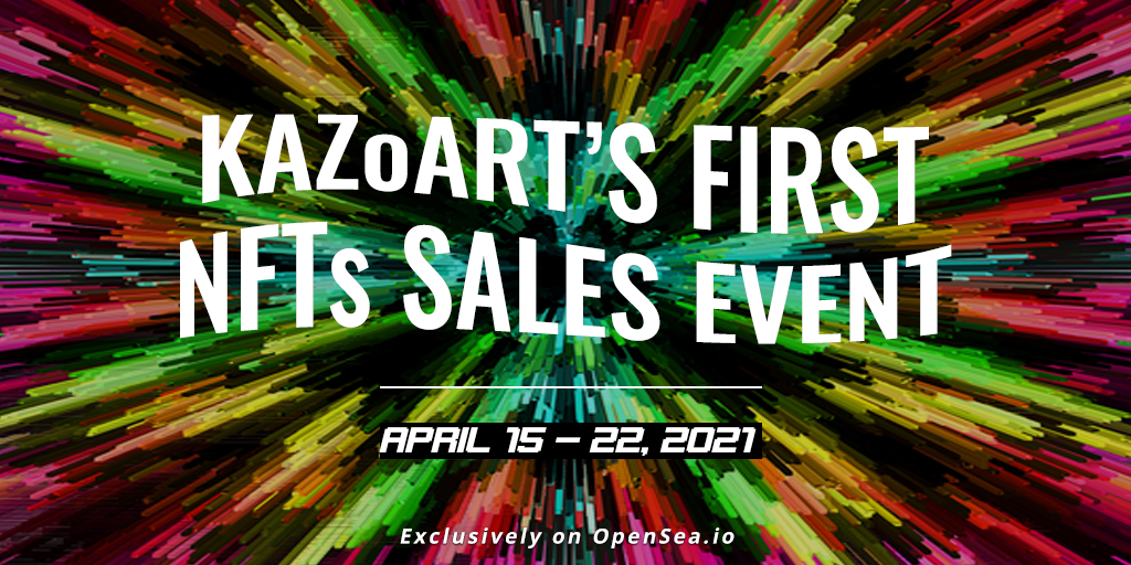 KAZoART, The First Online Art Gallery to Launch a NFTs Sales Event