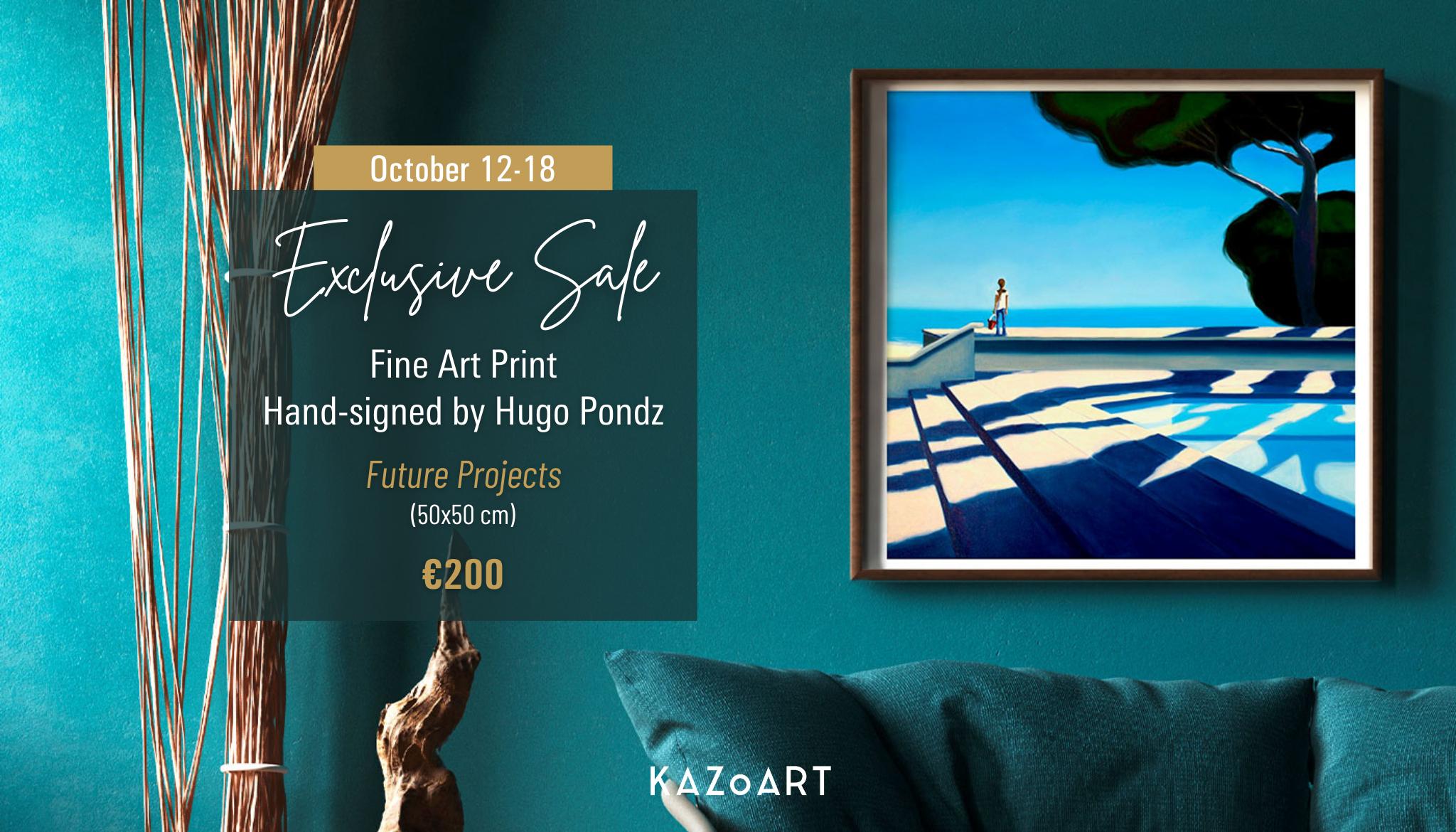 hugo pondz exclusive sale