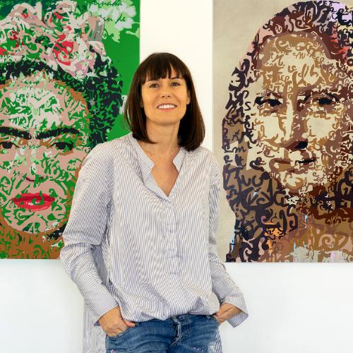 Lucie Lith - KAZoART s'expose à Art Shopping 2021