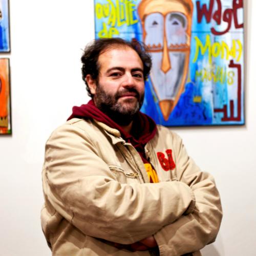 Tarek - KAZoART s'expose à Art Shopping 2021