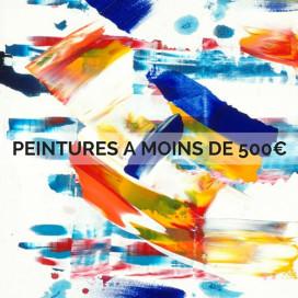 PEINTURES A MOINS DE 500€