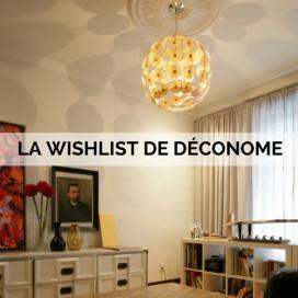 LA WISHLIST DE DECONOME